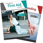 Emergency First Aid at Work + Serious Bleeding Pack
